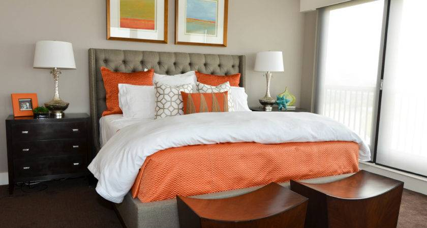 Extraordinary Coral Brown Bedding Decorating Ideas