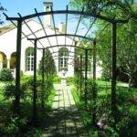 Extraordinary Wrought Iron Pergola Garden Trellis