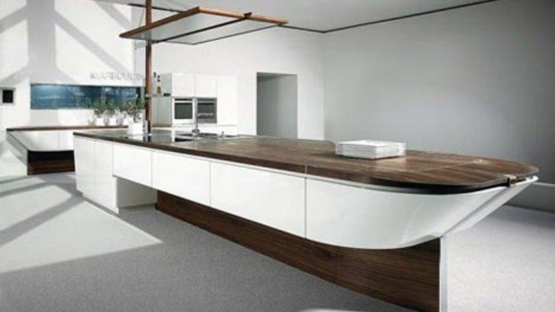 Extremely Sleek Contemporary Kitchen Island Designs