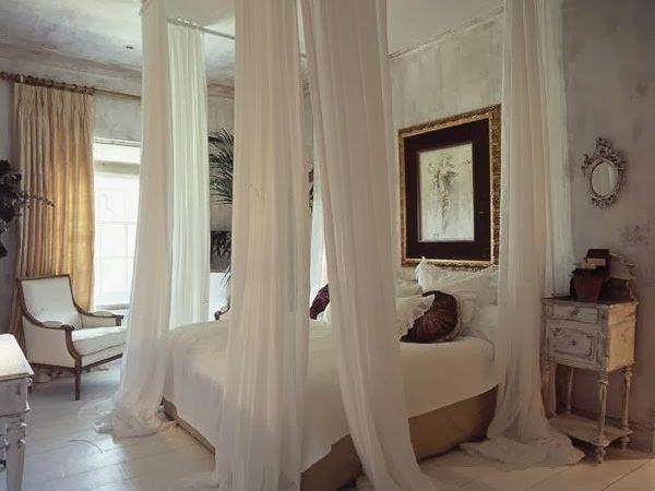 Eye Design Decorating Your Bed Gauze Canopies