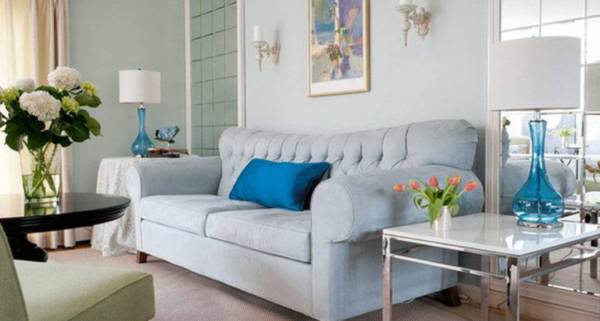 Fabulous Light Blue Living Room Decor Including Ideas