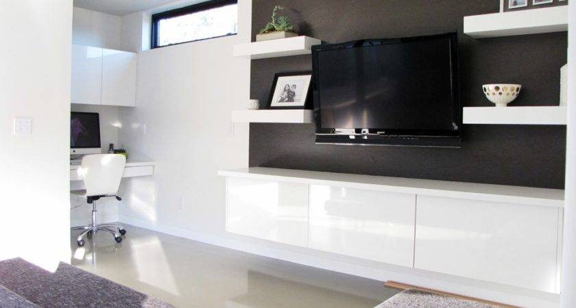 Fabulous Wall Mount Stand Shelves Decorating Ideas