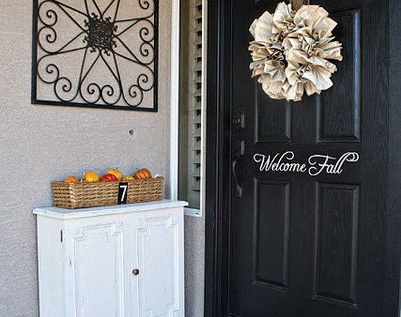 Fall Front Door Cor Ideas Holiday Guide