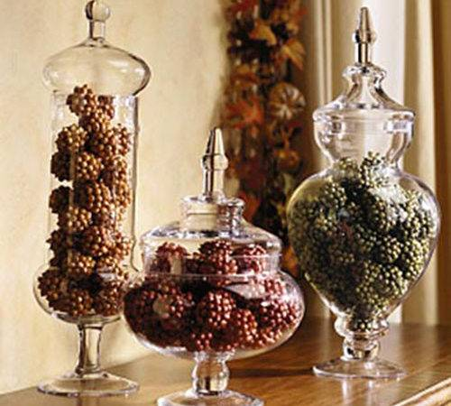 Fall Jar Decorations Lovely Events