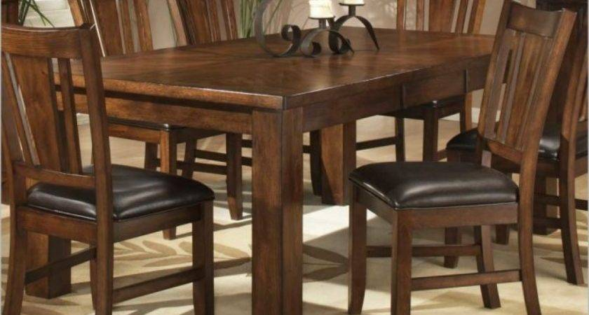 Fancy Dining Room Antique Style Brown Elegant Extendible
