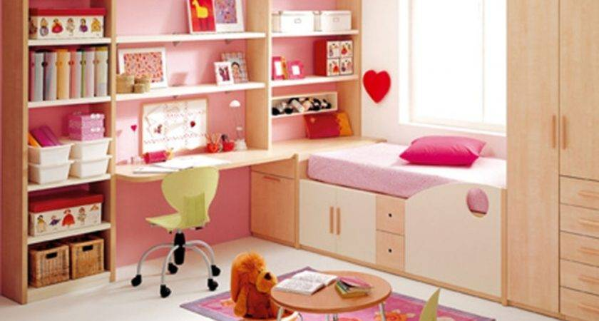 Fantastic Girl Bedroom Decoration Idea Nice Bed