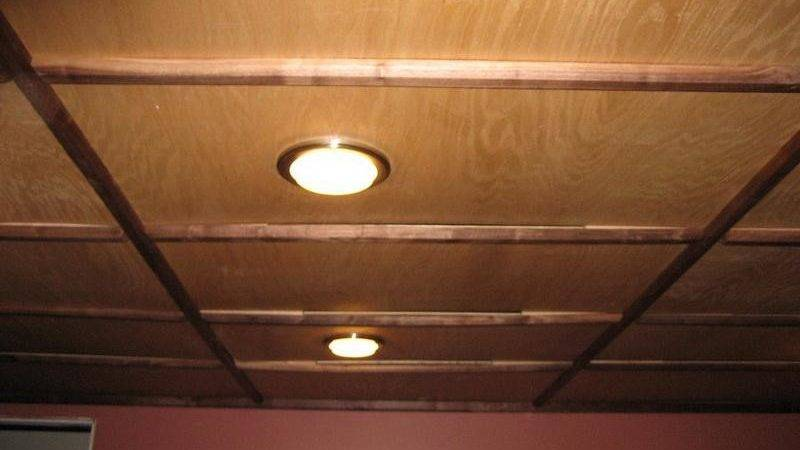 Fantastic Inexpensive Ceiling Ideas Basement