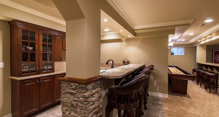 Fascinating Basement Remodeling Ideas Small Spaces