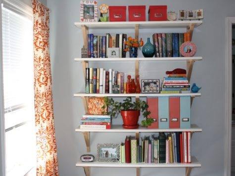 Fascinating Bookshelf Design Ideas Bedroom