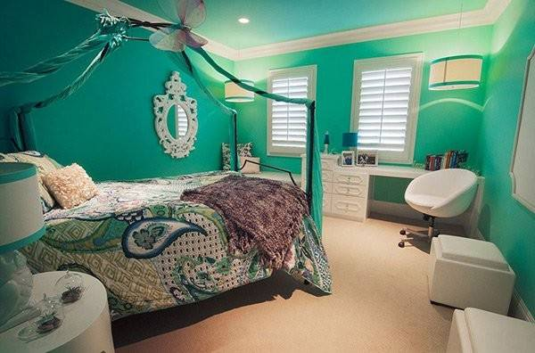 Fashionable Turquoise Bedroom Ideas Home Design Lover