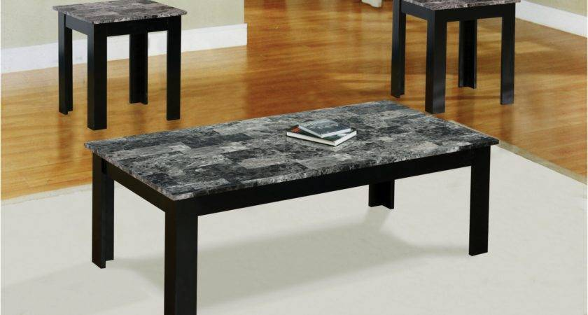 Faux Marble Coffee Table Unique