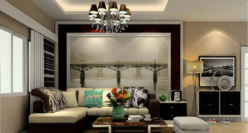 Feature Wall Living Room Modern House