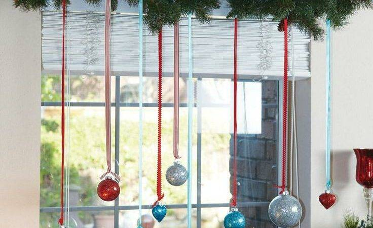 Festive Decorations Hang Your Windows Holidays