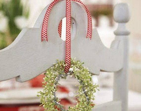 Festive Holiday Chair Decorations