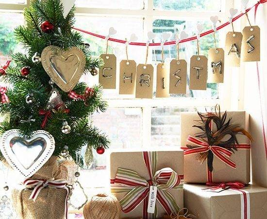 Festive Message Country Christmas Decorating Ideas