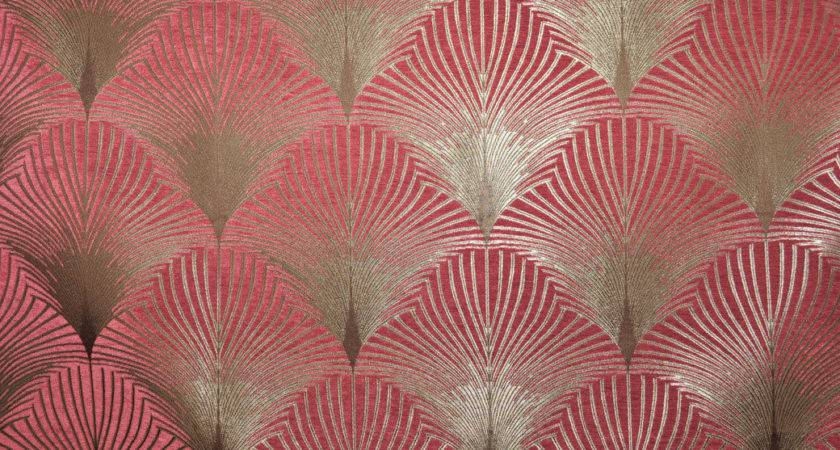 Fibre Naturelle New York Art Deco Curtain Upholstery