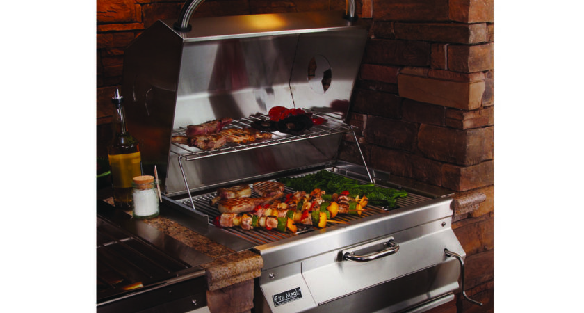 Fire Magic Charcoal Stainless Steel Built Bbq