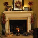 Fireplace Decorating Ideas Mantel Above Founterior