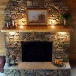 Fireplace Mantel Designs Natural Stone Firepace