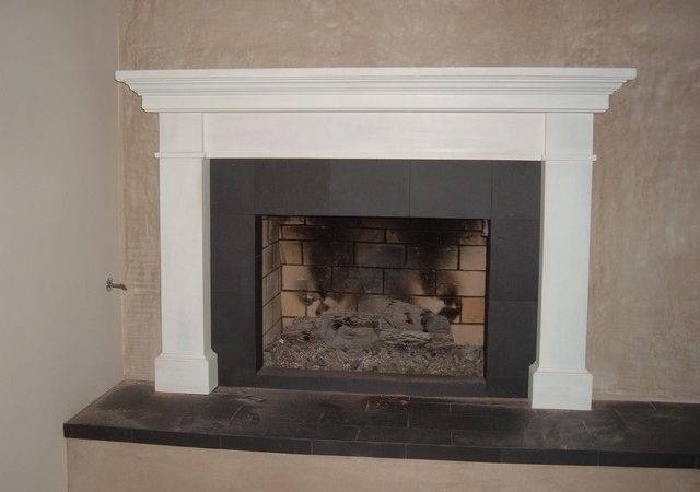Fireplace Mantels Contemporary Indoor Fireplaces Los
