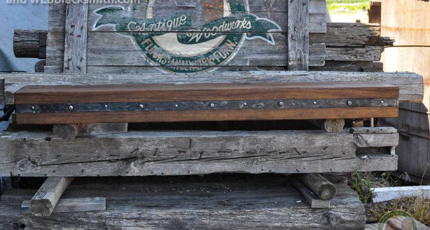 Fireplace Mantels Iron Straps Metal Accents