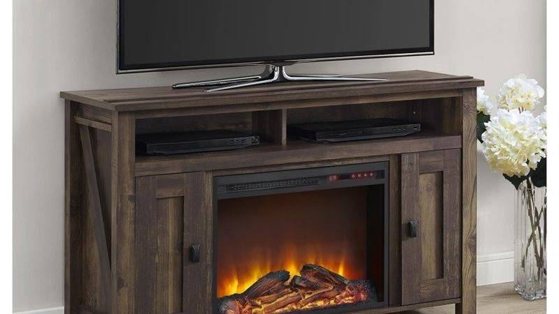 Fireplace Stand Heritage Pine