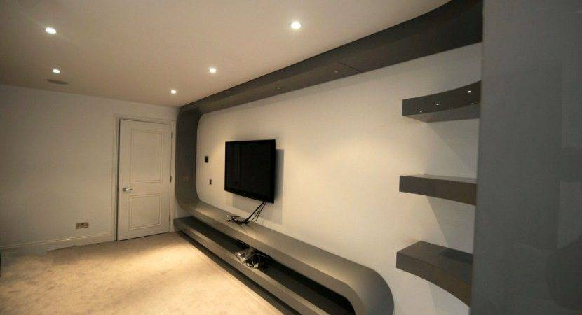 Fitted Living Room Furniture London Bespoke Unit