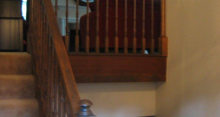 Fix Wall Mounted Banister Split Level Home