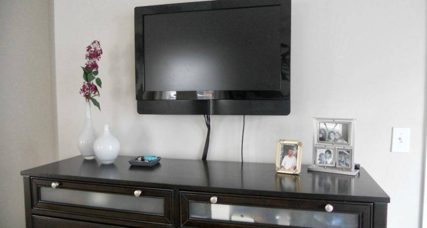 Flat Screen Wall Mount Ideas Attic Heirlooms Rectangle