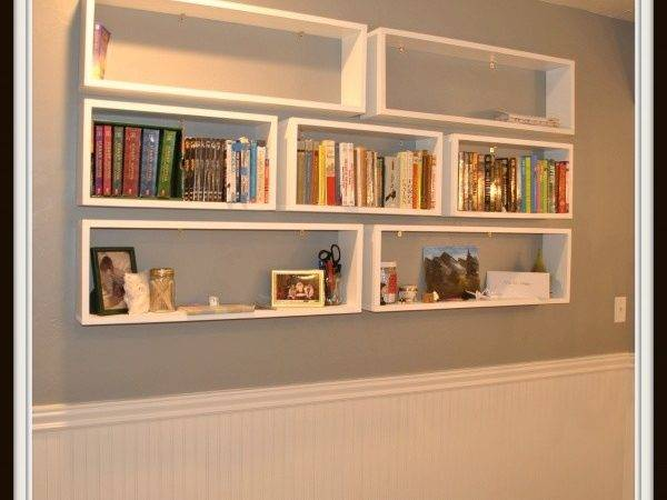 Floating Bookshelves Craft