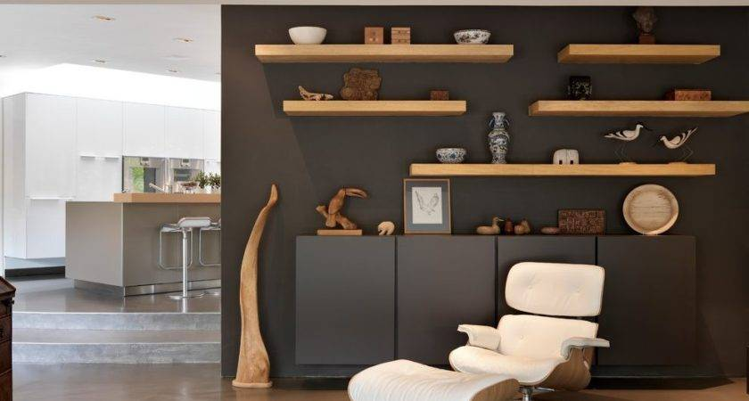 Floating Wall Shelves Decorating Ideas Living Room