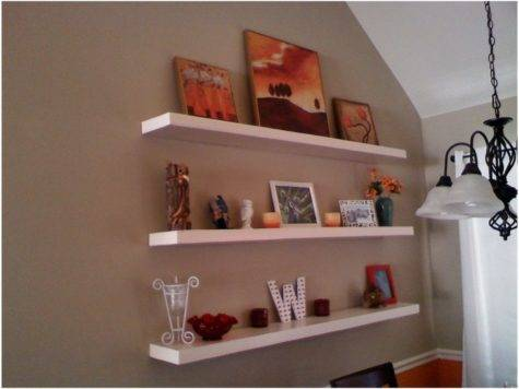 Floating Wall Shelving Display Ideas Cool Shelf