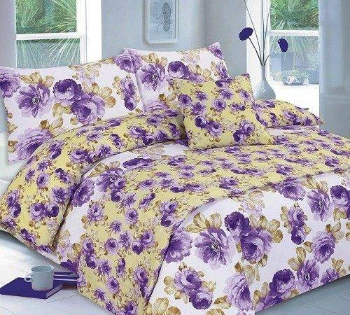 Floral Martha Lilac Bed Bag Duvet Quilt Cover Bedding