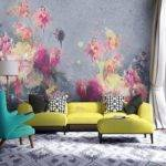 Floral Wall Mural Perfectly Addition Any Living Room