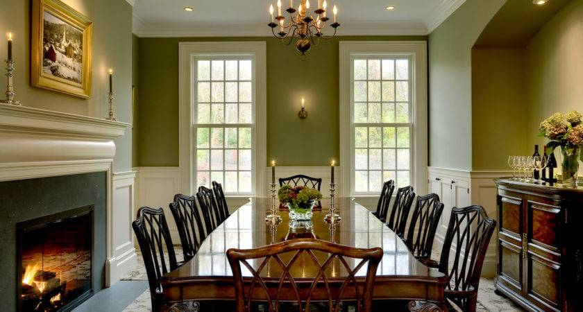 Formal Dining Room Colours