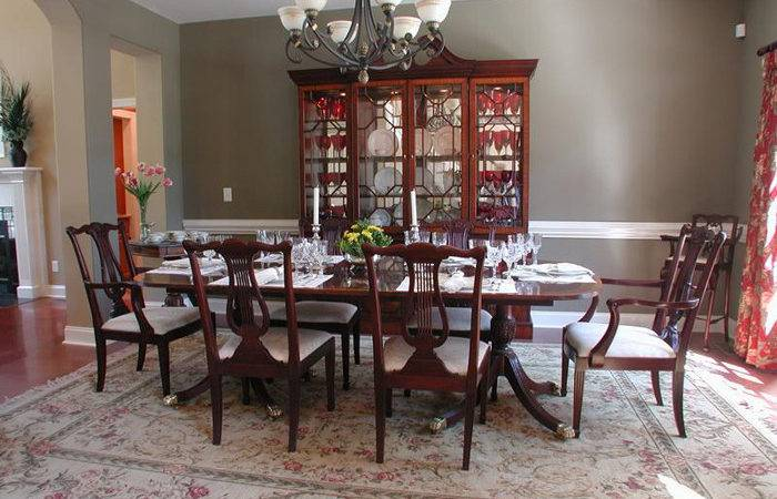 Formal Dining Rooms Elegant Decorating Ideas Large