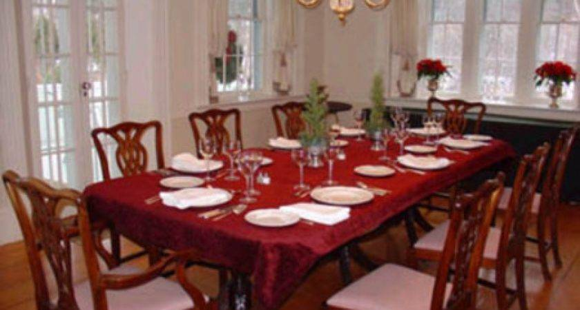 Formal Dining Table Decorating Ideas Large