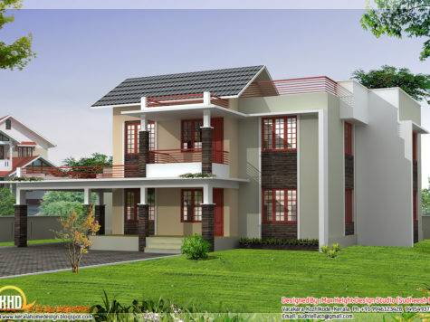 Four India Style House Designs Indian Home Decor