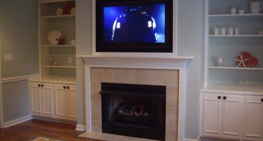Framed Fireplaces Pinterest