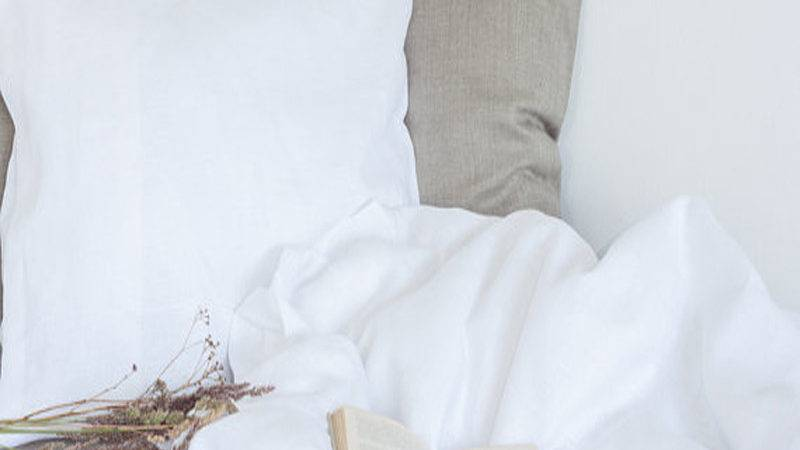 France Washed Linen Bedding Flax Pure Duvet Cover