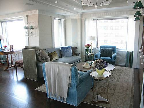 Frank Roop Turquoise Gray Living Room Flickr