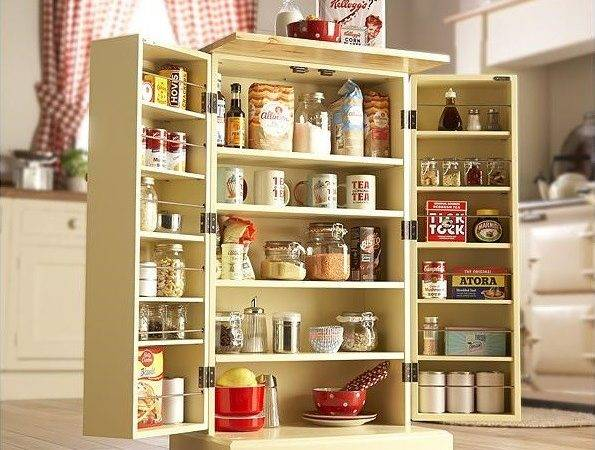 Freestanding Pantry Cabinets Kitchen Storage