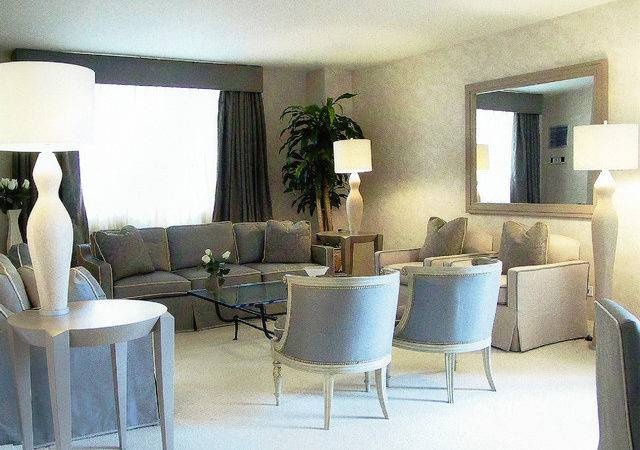 French Art Deco Apartment Modern Living Room New