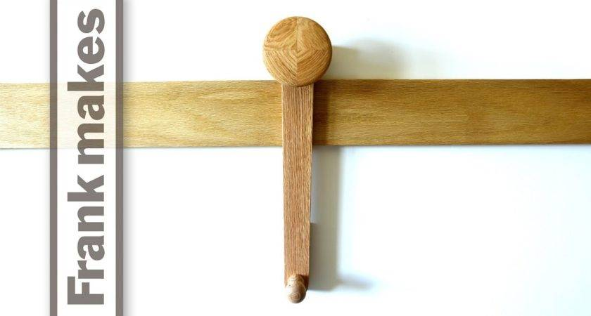 French Cleat Coat Hooks Youtube
