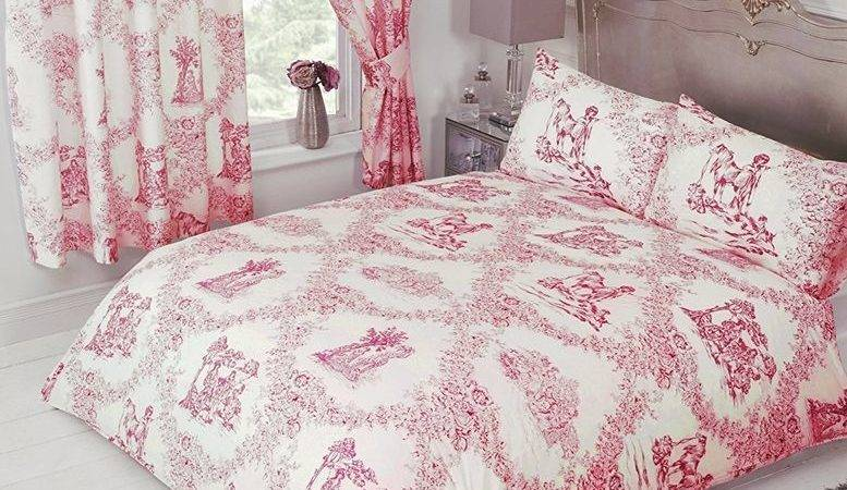 French Country Design Toile Jouy Bedding Duvet Quilt