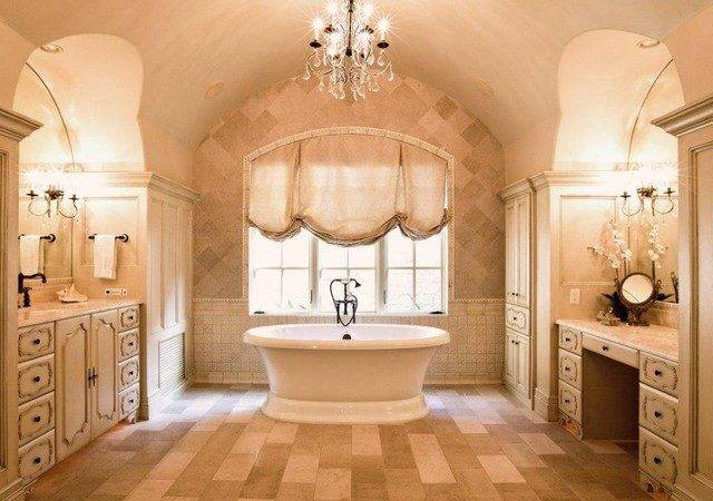 French Country Estate Traditional Bathroom Austin