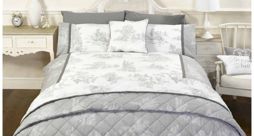 French Country Toile Camargue Duvet Cover Bedding Range