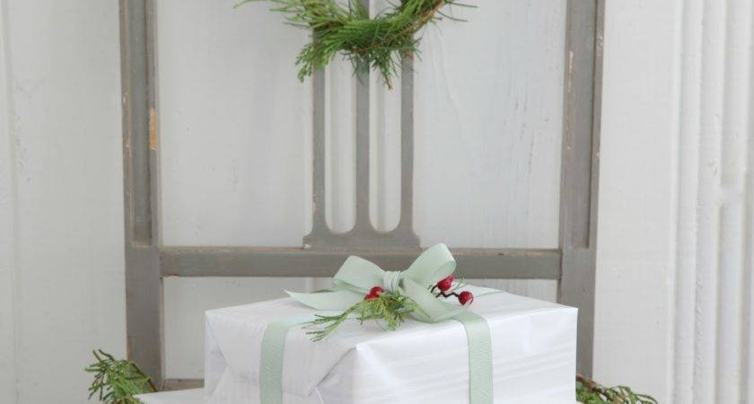 French Inspired Christmas Decor Country Cottage