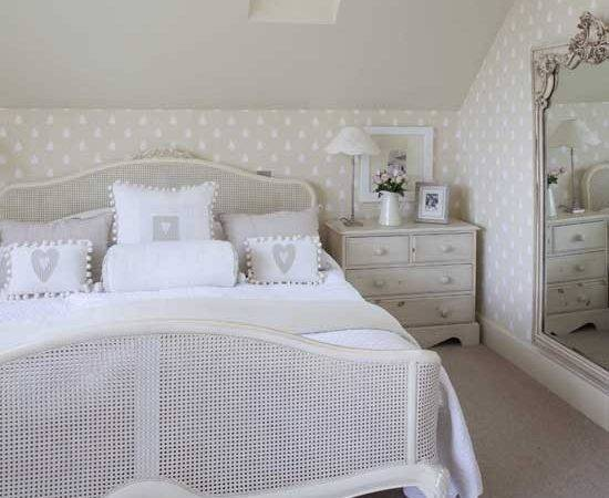 French Inspired Country Bedroom Bedrooms