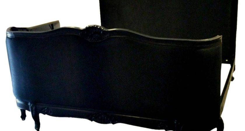 French Louis Xvi Style Bed Black King Stdibs